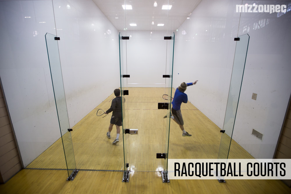 Space rentals mizzourec mizzourec for Average cost racquetball court