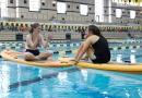 Aquatics, Jordan Liekweg, Testing, Fun, Professional Staff, Staff, Competition Pool, Paddle boards