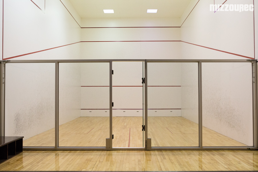 build a racquetball court