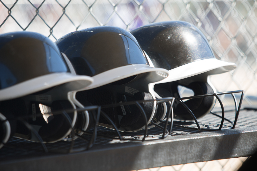 T.J. Thomson, softball, recsports, helmets, gloves, pitching