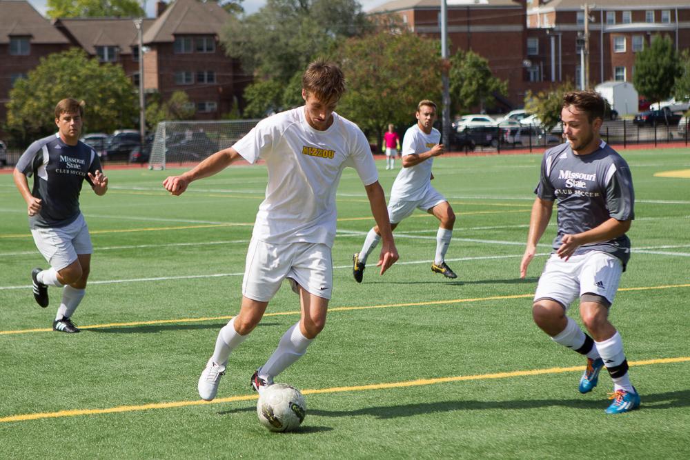 Mac Blair, Mens Club Soccer, Missouri State, September 26, Stankowski Field, Club Sports