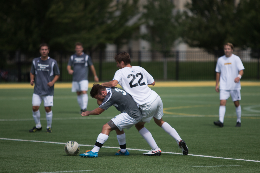 Rebecca Crews, Mens Club Soccer, Stankowski Field, Missouri State, Club Sports, September 2016